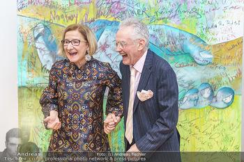 Ein Gemälde für Mikl-Leitner - Palais Niederösterreich, Wien - Mi 29.01.2020 - Johanna MIKL-LEITNER, Christian MUCHA70