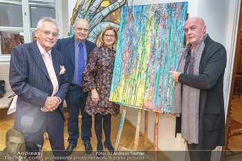 Ein Gemälde für Mikl-Leitner - Palais Niederösterreich, Wien - Mi 29.01.2020 - 85