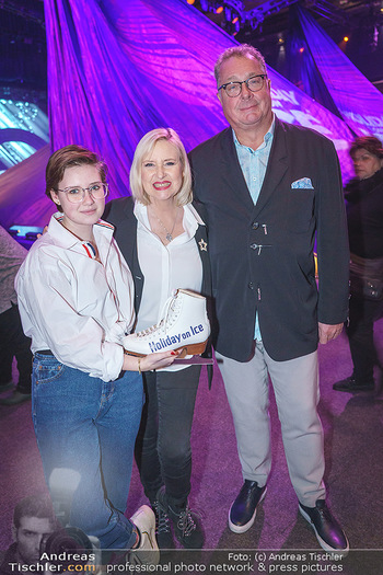 Holiday on Ice Premiere - Wiener Stadthalle - Mi 29.01.2020 - Lizzy Elisabeth ENGSTLER mit Tochter Amelie, Wolfgang FISCHER17