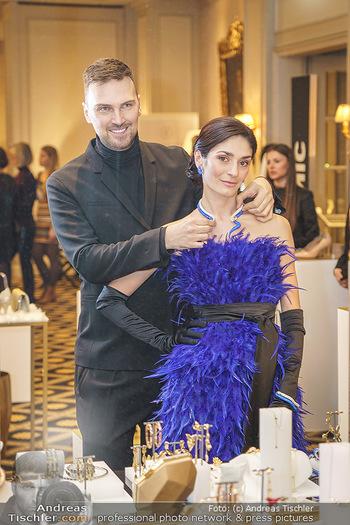 Opernball Couture Salon - Hotel Bristol, Wien - Mo 10.02.2020 - Ketevan PAPAVA, Niko NIKO5