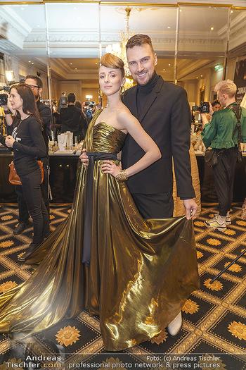 Opernball Couture Salon - Hotel Bristol, Wien - Mo 10.02.2020 - Niko NIKO, Olga ESINA25