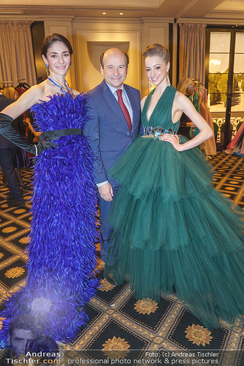 Opernball Couture Salon - Hotel Bristol, Wien - Mo 10.02.2020 - Ketevan PAPAVA, Natascha MAIR, Dominique MEYER31