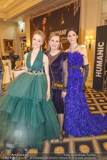 Opernball Couture Salon - Hotel Bristol, Wien - Mo 10.02.2020 - Ketevan PAPAVA, Maria GROßBAUER, Natascha MAIR33