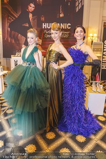 Opernball Couture Salon - Hotel Bristol, Wien - Mo 10.02.2020 - Ketevan PAPAVA, Natascha MAIR, Olga ESINA39
