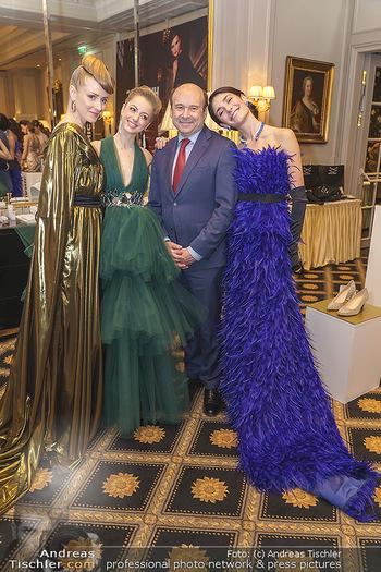 Opernball Couture Salon - Hotel Bristol, Wien - Mo 10.02.2020 - Ketevan PAPAVA, Natascha MAIR, Olga ESINA, Dominique MEYER43