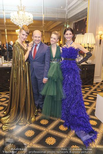 Opernball Couture Salon - Hotel Bristol, Wien - Mo 10.02.2020 - Ketevan PAPAVA, Natascha MAIR, Olga ESINA, Dominique MEYER44