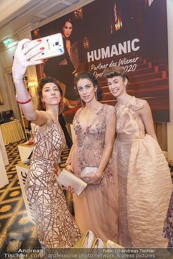 Opernball Couture Salon - Hotel Bristol, Wien - Mo 10.02.2020 - Ioanna AVRAAM, Elena BOTTARO, Alice FIRENZE46
