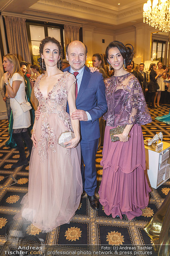 Opernball Couture Salon - Hotel Bristol, Wien - Mo 10.02.2020 - Alice FIRENZE, Dominique MEYER, Kiyoka HASHIMOTO64
