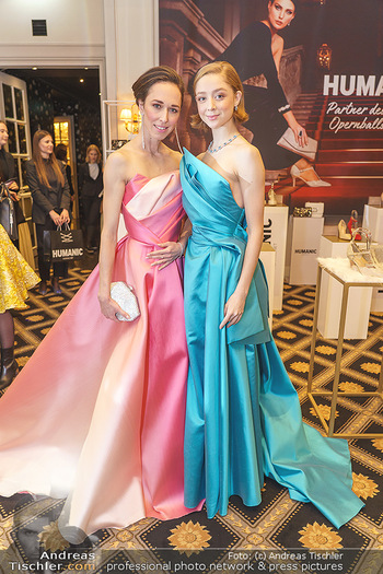 Opernball Couture Salon - Hotel Bristol, Wien - Mo 10.02.2020 - Nina POLAKOVA, Madison YOUNG71