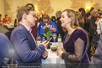 Opernball Couture Salon - Hotel Bristol, Wien - Mo 10.02.2020 - Norman SCHENZ, Maria GROßBAUER72