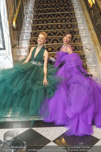 Opernball Couture Salon - Hotel Bristol, Wien - Mo 10.02.2020 - Natascha MAIR, Nikisha FOGO74