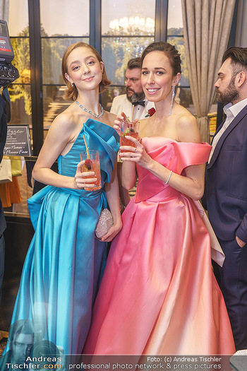 Opernball Couture Salon - Hotel Bristol, Wien - Mo 10.02.2020 - Madison YOUNG, Nina POLAKOVA76