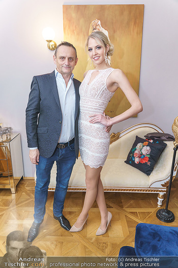 Wegrostek Designersale - Salon Luxuspuppe, Wien - Mi 12.02.2020 - Heimo TURIN, Beatrice KÖRMER4