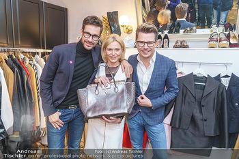 Wegrostek Designersale - Salon Luxuspuppe, Wien - Mi 12.02.2020 - Michael LAMERANER, Eva WEGROSTEK, Adi WEISS18
