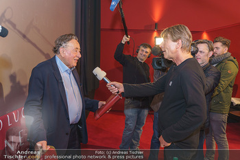 PK: Nicht-Verkündung des Stargasts - Lugner City, Wien - Do 13.02.2020 - Dominic HEINZL interviewt Richard LUGNER7