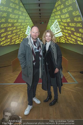 Show off - Austrian Fashion Design - MAK, Wien - Do 13.02.2020 - Alexander KNECHTSBERGER mit Ehefrau Jutta66