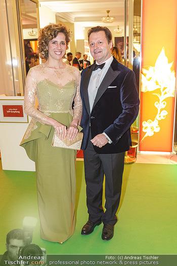 Kaffeesiederball 2020 - Hofburg Wien - Fr 14.02.2020 - Christina MEINL-ROHLA mit Ehemann7
