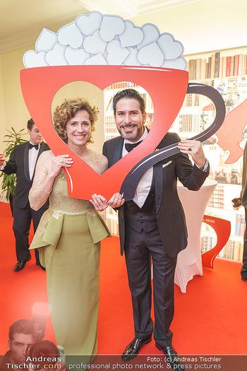 Kaffeesiederball 2020 - Hofburg Wien - Fr 14.02.2020 - Clemens UNTERREINER, Christina MEINL23