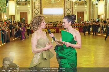 Kaffeesiederball 2020 - Hofburg Wien - Fr 14.02.2020 - Kimberly BUDINSKY interviewt Christina MEINL66