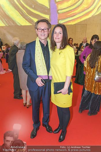 Fundraising Dinner - Leopold Museum, Wien - Di 18.02.2020 - Hans-Peter WIPPLINGER, Susanne LAENGLE12