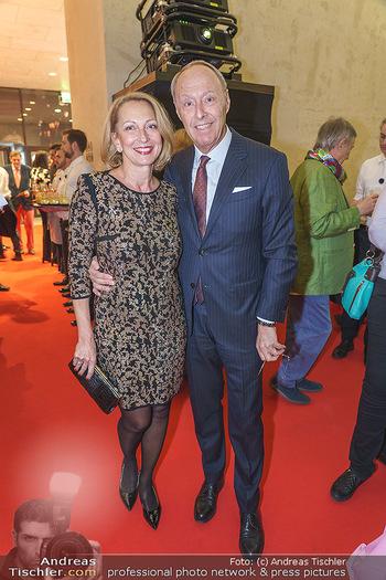 Fundraising Dinner - Leopold Museum, Wien - Di 18.02.2020 - Wolfgang RUTTENSTORFER mit Ehefrau Susanne18