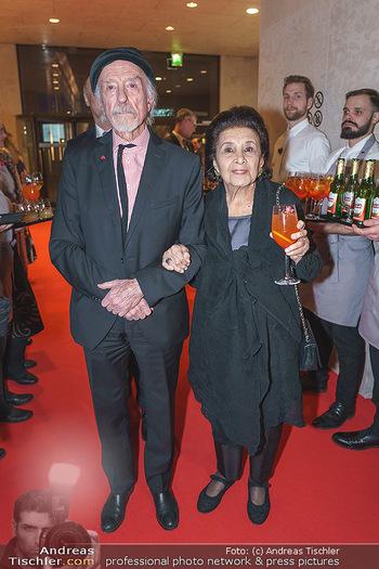 Fundraising Dinner - Leopold Museum, Wien - Di 18.02.2020 - Arik BRAUER mit Ehefrau Naomi21