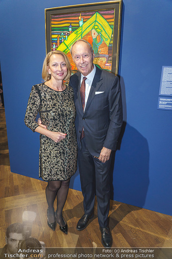 Fundraising Dinner - Leopold Museum, Wien - Di 18.02.2020 - Wolfgang RUTTENSTORFER mit Ehefrau Susanne40