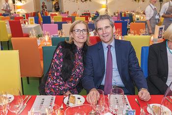 Fundraising Dinner - Leopold Museum, Wien - Di 18.02.2020 - Claudia und Hartwig LÖGER60