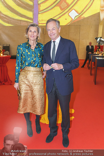 Fundraising Dinner - Leopold Museum, Wien - Di 18.02.2020 - Desiree TREICHL-STÜRGKH, Andreas TREICHL67