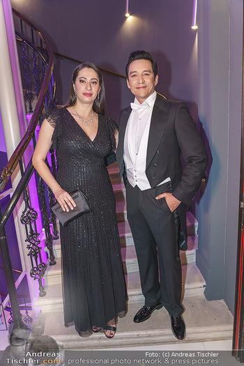 Hallmann Empfang - Le Meridien - Do 20.02.2020 - Gabriel LUNA mit Ehefrau Smaranda10