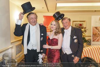 Lugner Fototermin und Abendessen - Grand Hotel, Wien - Do 20.02.2020 - Richard LUGNER mit Tochter Jacqueline1