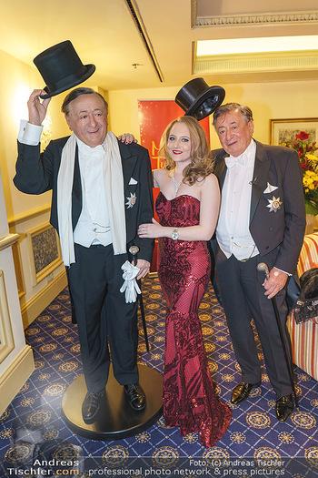 Lugner Fototermin und Abendessen - Grand Hotel, Wien - Do 20.02.2020 - Richard LUGNER mit Tochter Jacqueline2