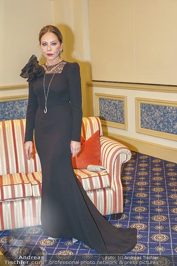 Lugner Fototermin und Abendessen - Grand Hotel, Wien - Do 20.02.2020 - Ornella MUTI6