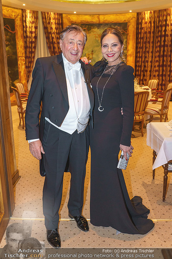 Lugner Fototermin und Abendessen - Grand Hotel, Wien - Do 20.02.2020 - Ornella MUTI, Richard LUGNER7