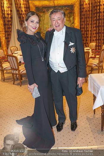 Lugner Fototermin und Abendessen - Grand Hotel, Wien - Do 20.02.2020 - Ornella MUTI, Richard LUGNER8