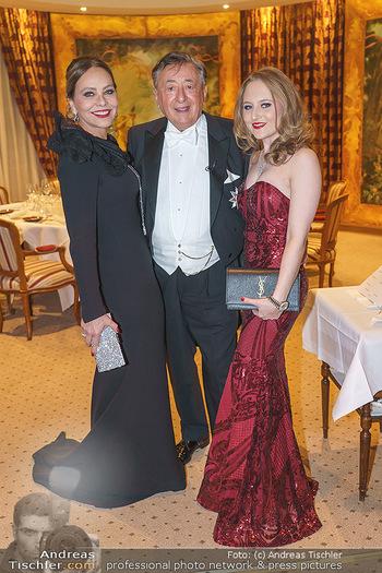 Lugner Fototermin und Abendessen - Grand Hotel, Wien - Do 20.02.2020 - Ornella MUTI, Richard LUGNER, Jacqueline LUGNER9