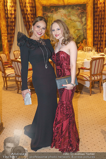 Lugner Fototermin und Abendessen - Grand Hotel, Wien - Do 20.02.2020 - Ornella MUTI, Jacqueline LUGNER11