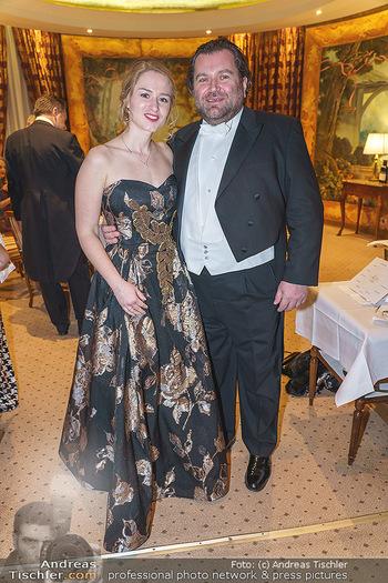 Lugner Fototermin und Abendessen - Grand Hotel, Wien - Do 20.02.2020 - Waldemar FESTENBURG14