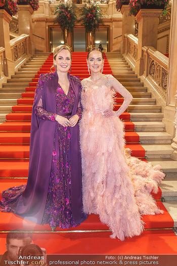 Opernball 2020 - Wiener Staatsoper - Do 20.02.2020 - Maria GROßBAUER, Eva POLESCHINSKI6