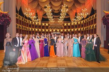 Opernball 2020 - Wiener Staatsoper - Do 20.02.2020 - Erste Solotänzerinnen - Solistinnen der Wiener Staatsoper, Kün25