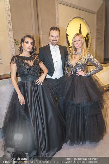 Opernball 2020 - Wiener Staatsoper - Do 20.02.2020 - Nadine MIRADA, Niko NIKO, Nina KRAFT40