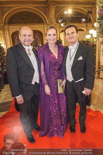 Opernball 2020 - Wiener Staatsoper - Do 20.02.2020 - Letzer Opernball für das Trio Dominique MEYER, Maria GROßBAUER47