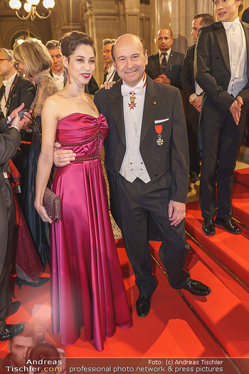 Opernball 2020 - Wiener Staatsoper - Do 20.02.2020 - Maria YAKOVLEVA, Dominique MEYER59