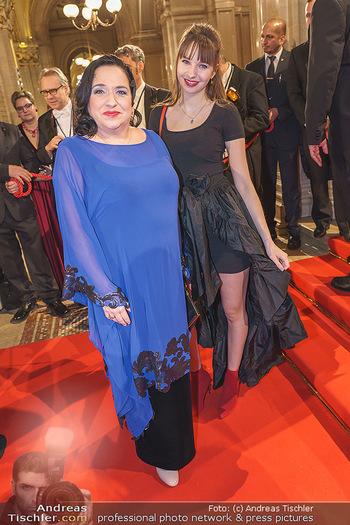 Opernball 2020 - Wiener Staatsoper - Do 20.02.2020 - Maria HAPPEL mit Tochter65