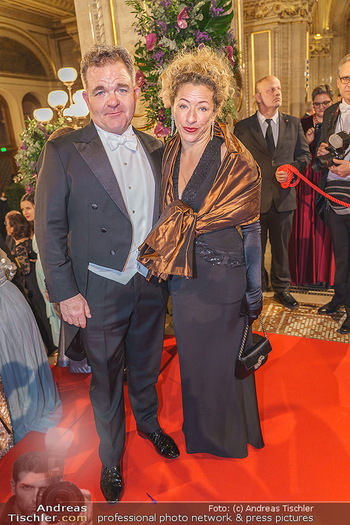 Opernball 2020 - Wiener Staatsoper - Do 20.02.2020 - Cornelius OBONYA, Carolin PIENKOS68