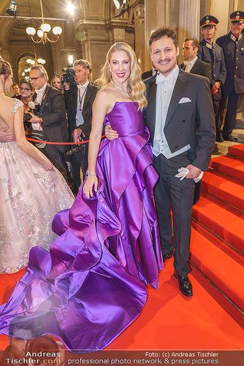 Opernball 2020 - Wiener Staatsoper - Do 20.02.2020 - Christoph und Maria SANTNER70