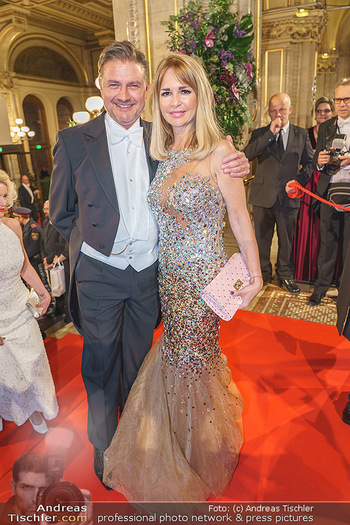 Opernball 2020 - Wiener Staatsoper - Do 20.02.2020 - Reinhard DEIRING mit Ehefrau Sandra (ehem. GOTTSCHALK)73