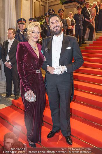 Opernball 2020 - Wiener Staatsoper - Do 20.02.2020 - Nadja SWAROVSKI, Clemens UNTERREINER79