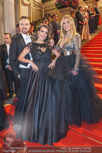 Opernball 2020 - Wiener Staatsoper - Do 20.02.2020 - Nadine MIRADA, Niko NIKO, Nina KRAFT83