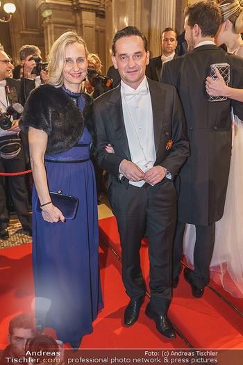 Opernball 2020 - Wiener Staatsoper - Do 20.02.2020 - Kurt GOLLOWITZER mit Ehefrau96